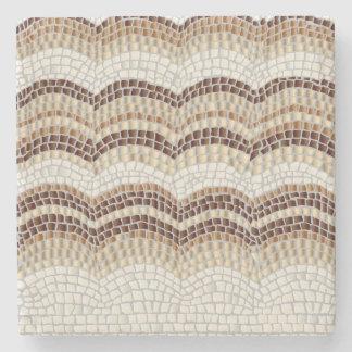 Dessous-de-verre En Pierre Dessous de verre beiges de pierre de marbre de