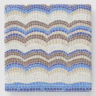 Dessous-de-verre En Pierre Dessous de verre bleus de pierre de marbre de