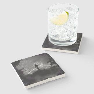 Dessous-de-verre En Pierre Dessous de verre de marbre graves cachés