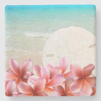 Dessous-de-verre En Pierre Dessous de verre hawaïens de pierre du dollar de