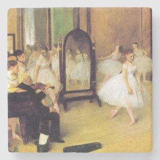 Dessous-de-verre En Pierre Edgar Degas | la classe de danse