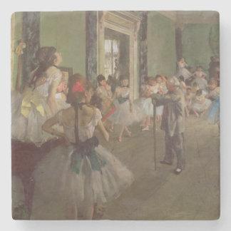 Dessous-de-verre En Pierre Edgar Degas | la classe de danse, c.1873-76