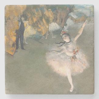 Dessous-de-verre En Pierre Edgar Degas   l'étoile, ou danseur sur l'étape