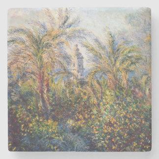 Dessous-de-verre En Pierre Jardin de Claude Monet   dans Bordighera