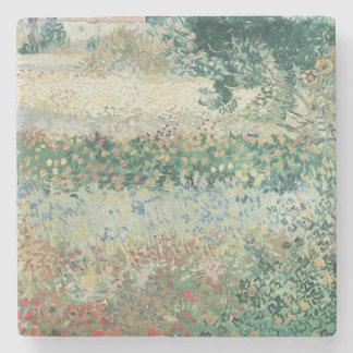 Dessous-de-verre En Pierre Jardin de Vincent van Gogh   en fleur, Arles, 1888
