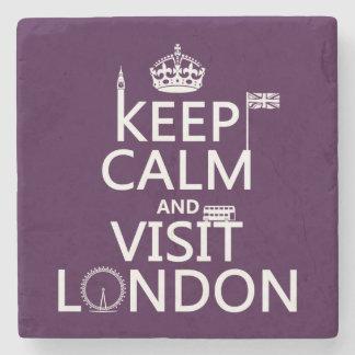 Dessous-de-verre En Pierre Maintenez calme et visite Londres