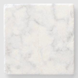 Dessous-de-verre En Pierre Marbre blanc