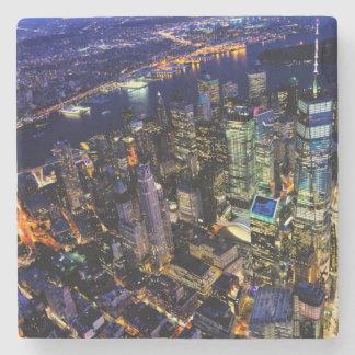 Dessous-de-verre En Pierre New York City, Manhattan, paysage urbain des