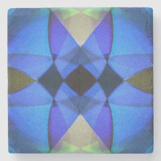 Dessous-de-verre En Pierre Papillon bleu