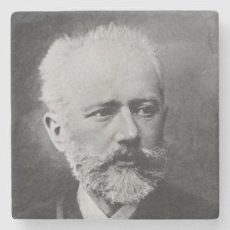 Dessous-de-verre En Pierre Portrait de photo de Tchaikovsky