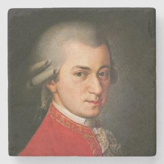 Dessous-de-verre En Pierre Portrait de Wolfgang Amadeus Mozart