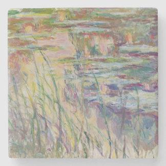 Dessous-de-verre En Pierre Réflexions de Claude Monet   sur l'eau, 1917