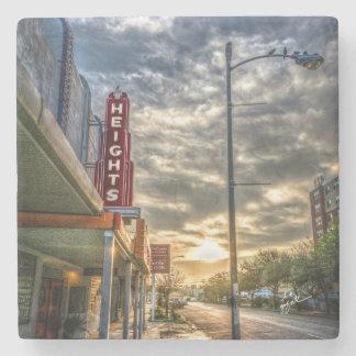 Dessous-de-verre En Pierre Rue de tailles de Houston 19ème