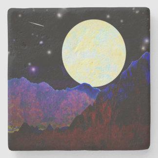 Dessous-de-verre En Pierre Vallée de la lune