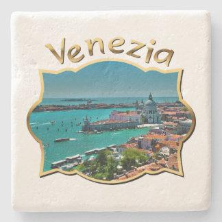 Dessous-de-verre En Pierre Venise, Italie - vue aérienne