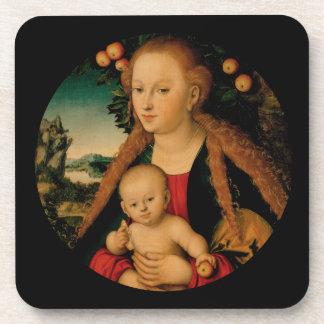 Dessous-de-verre Enfant de Vierge sous le pommier Cranach