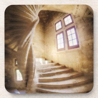 Dessous-de-verre Escalier beige de spirl, France
