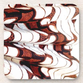 Dessous de verre faits sur commande avec le motif