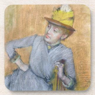 Dessous-de-verre Femme assise par   d'Edgar Degas, 1887