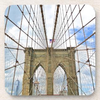 Dessous-de-verre Fondation de ville de New York Brooklyn de pont