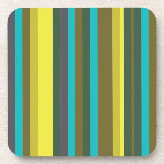 Dessous-de-verre Green_stripes