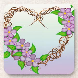 Dessous-de-verre Guirlande florale