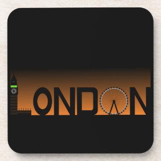 Dessous-de-verre Horizon de Londres