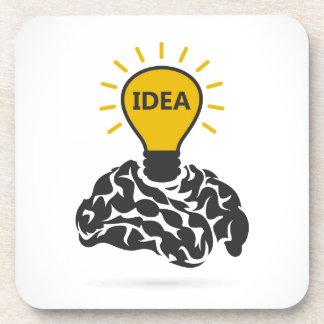 Dessous-de-verre Idée d'un cerveau