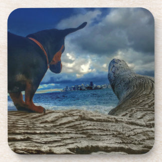 Dessous-de-verre Île d'ange