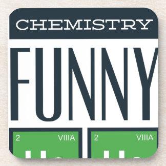 Dessous-de-verre J'ai rendu une chimie drôle ici
