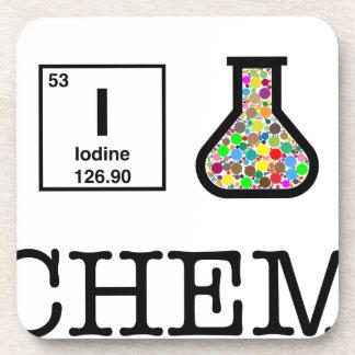 Dessous-de-verre J'aime la chimie