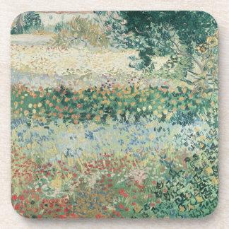 Dessous-de-verre Jardin de Vincent van Gogh   en fleur, Arles, 1888