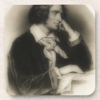 Dessous-de-verre jeune Franz Liszt - portrait