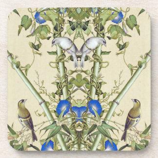 Dessous-de-verre La gloire de matin bleue asiatique fleurit des