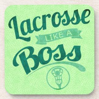 Dessous-de-verre La lacrosse aiment un patron