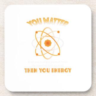 Dessous-de-verre La Science de physique vous énergie drôle