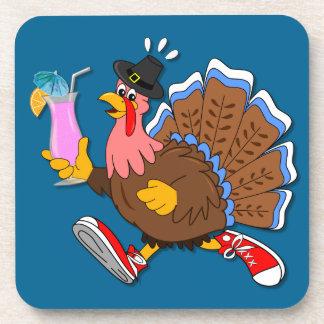 Dessous-de-verre La Turquie pompette (cocktail)