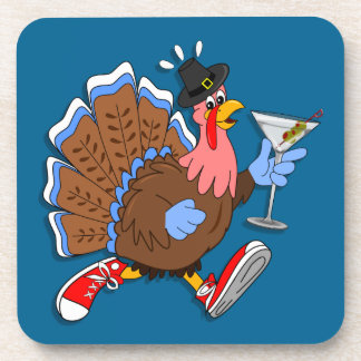 Dessous-de-verre La Turquie pompette (Martini)
