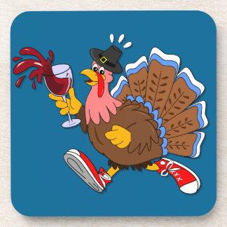 Dessous-de-verre La Turquie pompette (vin)