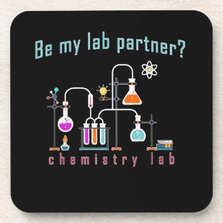 Dessous-de-verre Laboratoire de chimie