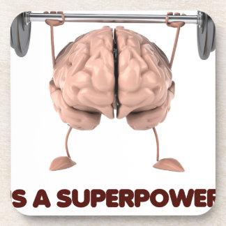 Dessous-de-verre L'autisme est la superpuissance, cadeau de levage