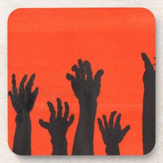 Dessous-de-verre Le zombi remet l'orange
