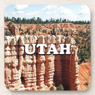 Dessous-de-verre L'Utah : Parc national de canyon de Bryce