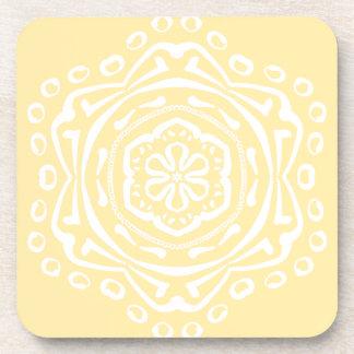Dessous-de-verre Mandala de parchemin
