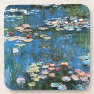 Dessous-de-verre Nénuphars par Claude Monet, impressionisme vintage