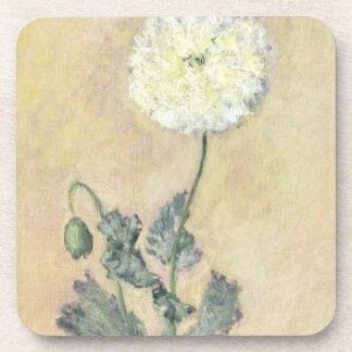 Dessous-de-verre Pavot cultivé de Claude Monet  , 1883