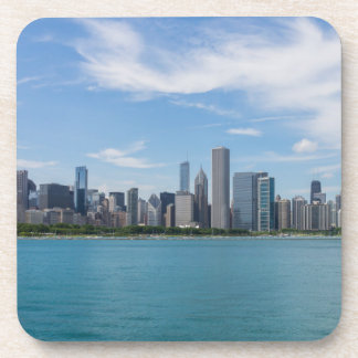 Dessous-de-verre Paysage urbain de jour de Chicago