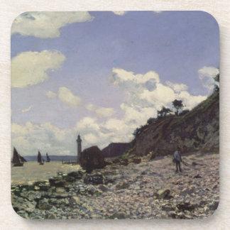 Dessous-de-verre Plage de Claude Monet   chez Honfleur, 1864