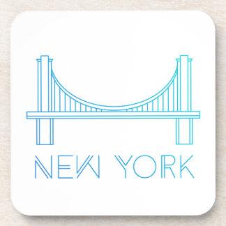 Dessous-de-verre Pont de Brooklyn | New York City