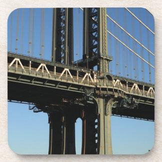 Dessous-de-verre Pont New York Manhattan Brooklyn